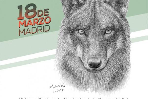 Lobo Vivo, Lobo Protegido  3a manifestación en defensa del Lobo Ibérico